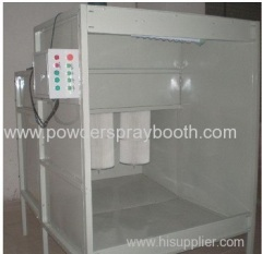 Cartridge Style Powder Booth