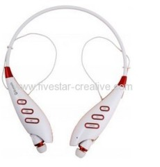 LG-S740T Stereo Bluetooth Wireless MP3 Neck-fit Headsets With Memory Card Reader S740T Bluetooth Stereo MP3 Headset