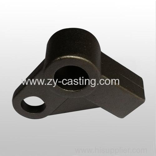 small automobile accessory triangle shape silica sol casting 45# steel