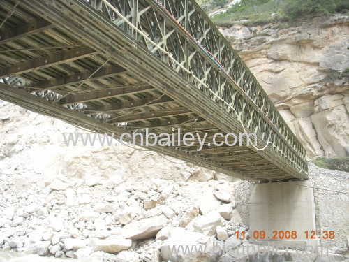steel bailey prefabricated bridge