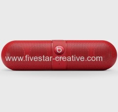 Beats Audio Pill 2.0 Wireless Bluetooth NFC Speaker with Microphone Red