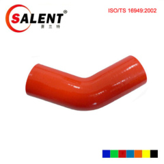 Red SALENT High Temp Reinforced 45 Degree Elbow Coupler