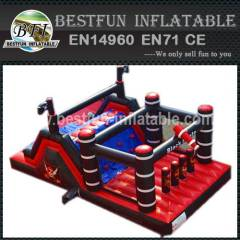 INFLATABLE OBSTACLES PIRATES THEME