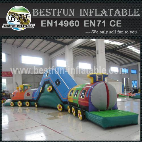 Outdoor inflatable caterpillar tunnel