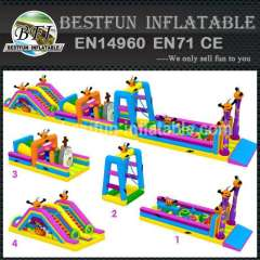 INFLATABLE OBSTACLES HELLOWEEN THEME