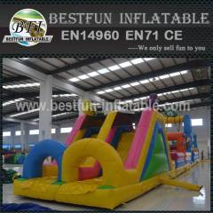 Rabbit inflatable bouncer with obstacle