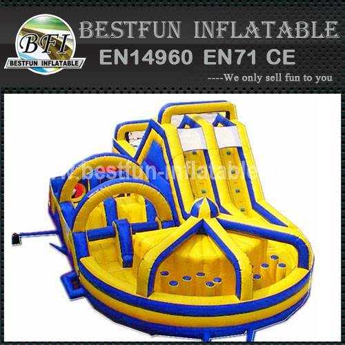 Attractive professional inflatable obstacle