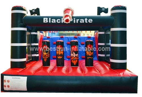 Cheap china inflatable obstacle course for kids and adult