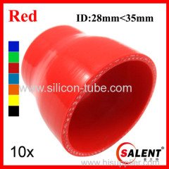SALENT High Temp Reinforced Silicone Reducer Hoses ID35-28