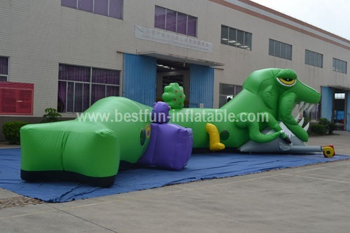 Climbing inflatable tunnels for kids