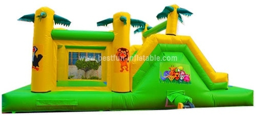 Commerical inflatable sport obstacle course game