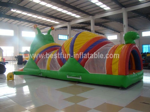 Long PVC Inflatable Caterpillar Tunnel