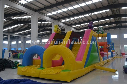 New inflatable lovely rabbit obstacle park