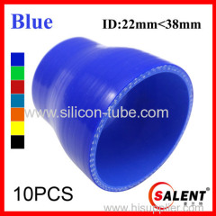 SALENT High Temp Reinforced Silicone Reducer Hoses ID38-22