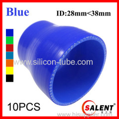 SALENT High Temp Reinforced Silicone Reducer Hoses ID38-28