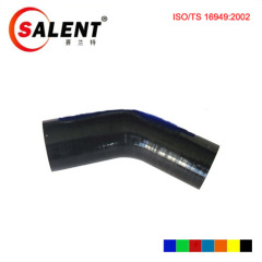Black SALENT High Temp Reinforced 45 Degree Elbow Coupler