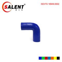 Blue SALENT High Temp Reinforced 90 Degree Elbow Coupler