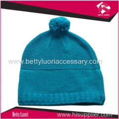 knitted ladies beanie hat