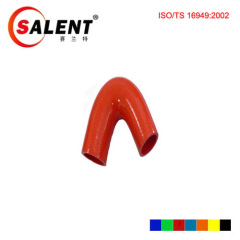 Red SALENT High Temp Reinforced 135 Degree Elbow Coupler