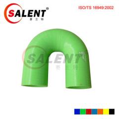 Green SALENT High Temp Reinforced 180 Degree Elbow Coupler