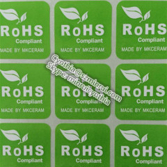 Coated Paper Adhesive Label LOGO Sticker