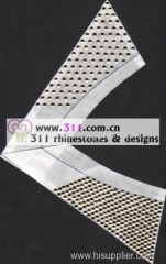 311 collar hot-fix heat transfer rhinestone motif design2
