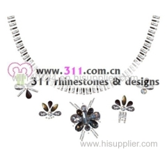 311 iron on acrylic stone hot-fix heat transfer rhinestone motif design 1