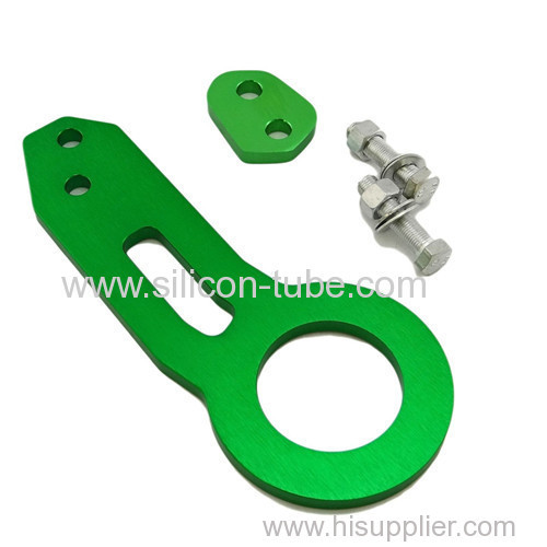 New Blue CNC Anodized Billet Aluminum Racing Front Rear Tow Towing Hook Kit