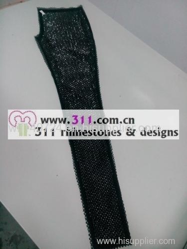 311 pants rhinestuds octagon studs iron on hot-fix heat transfer design 2