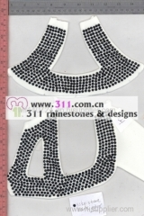 311 shoes rhinestuds octagon studs iron on hot-fix heat transfer design 2