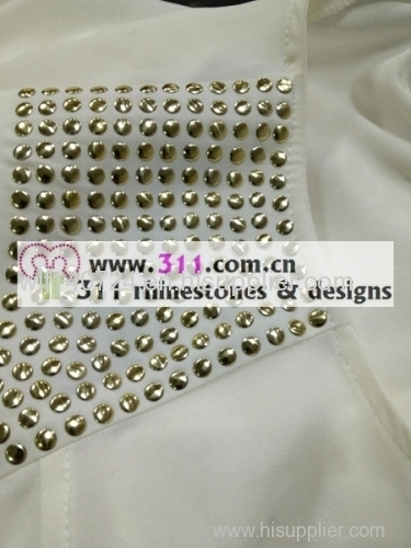 311 shoulder hot-fix heat transfer rhinestone motif design 2