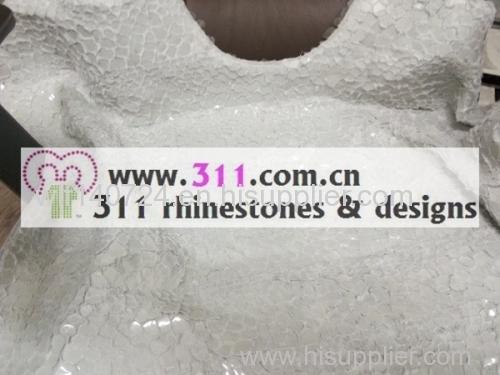 311 spangle sequin full body hot-fix heat transfer rhinestone motif design 1