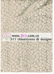 311 spangle sequin full body hot-fix heat transfer rhinestone motif design 2