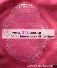 311 spangle sequin iron on heat transfer hot-fix design 1