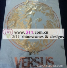 311 spangle sequin iron on heat transfer hot-fix design 2