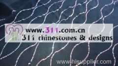 311 svarves rhinestuds octagon studs iron on hot-fix heat transfer design