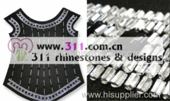 311-allover-hot-fix heat transfer rhinestone motif design 5