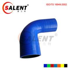 Blue SALENT High Temp Reinforced 90 Degree Reducer Elbow Coupler