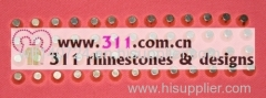 311-copper studs alloy studs-hot-fix heat transfer rhinestone motif design 2
