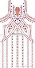 311-full body dress rhinestones rhinestuds nailheads motif design 2