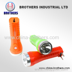 rechargeable led torch with good quality