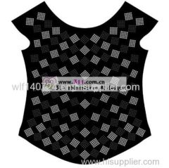 311-full body-hot-fix heat transfer rhinestone motif design 4