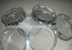 stainless steel wire mesh sieves
