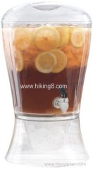 Beverage Dispenser with Cooling Cylinder