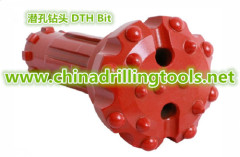 Down the hole domed drill button bits