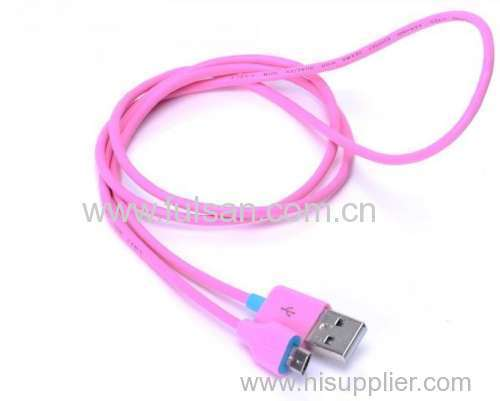 Colored Micro USB Cable for Android Smartphones
