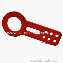 Power Strength Billet Aluminum Front Rear Towing Tow Hook JDM Anodized Red