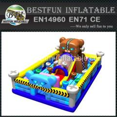 INFLATABLE PLAYGROUND ALIEN BROWN