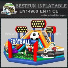 Advertising Inflatable Football Playground