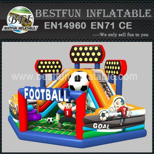 Amusement inflatable football playground
